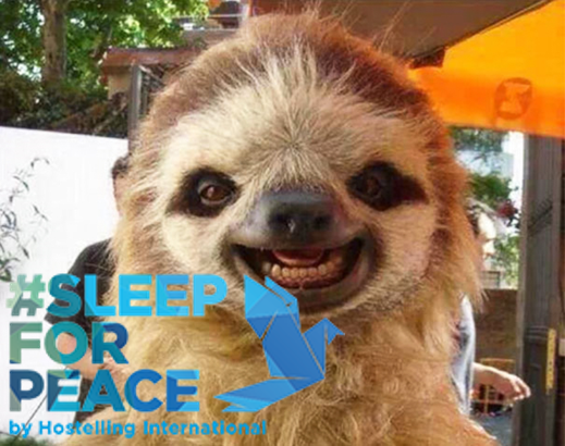 Sleep for Peace frame mock up
