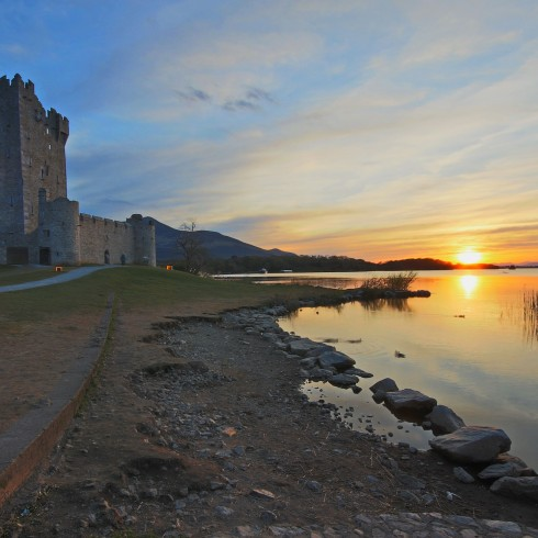 Ross Castle in Killarney is a 15th century tower house that makes you feel like you've stepped back in time.