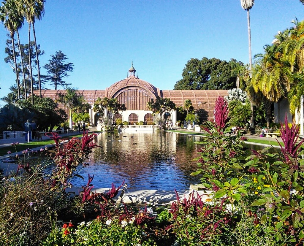 The Botanical Building at Balboa Park