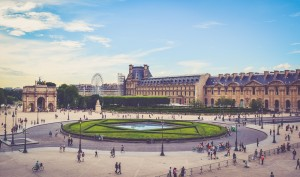 View of Place de la Concorde from Jardin des Tuileries