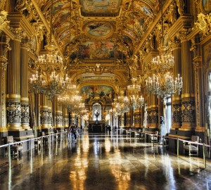 The Grand Foyer of the Palais Garnier