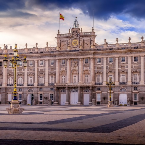 The Royal Palace Madrid