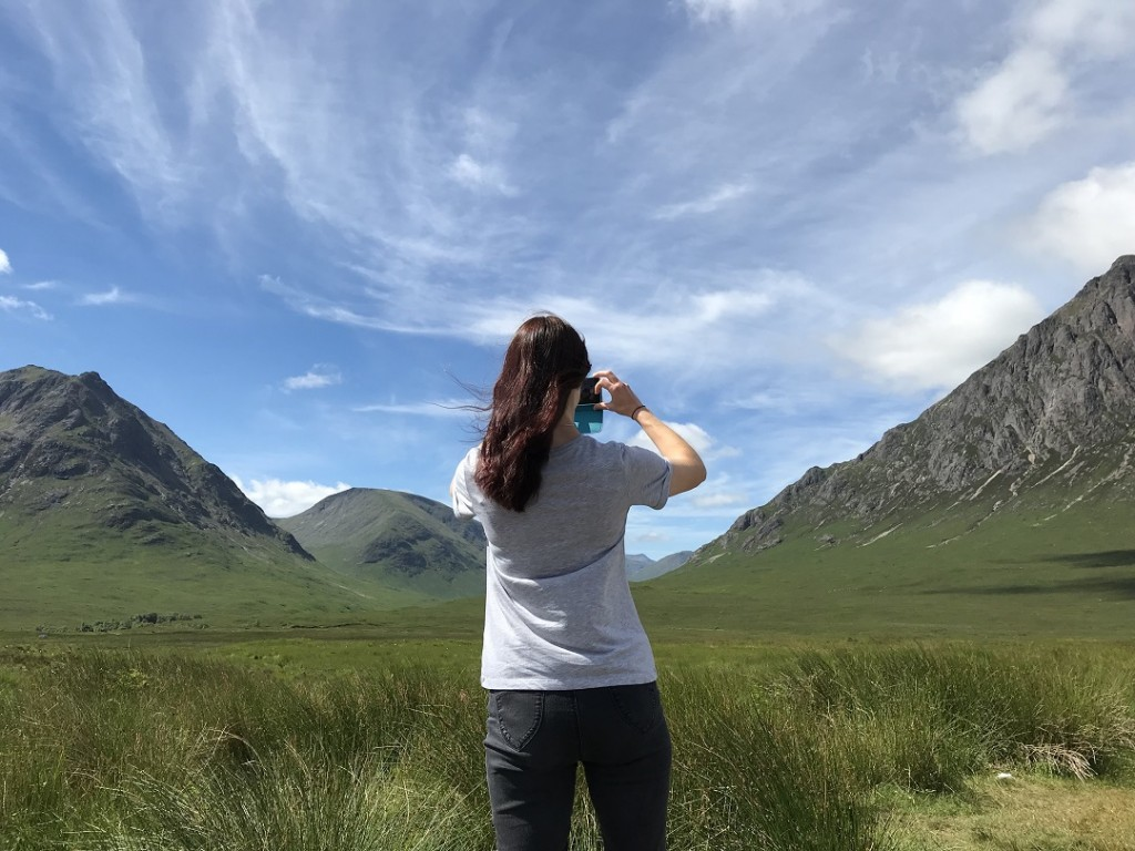 Glen Coe viewpoint and Nature Reserve