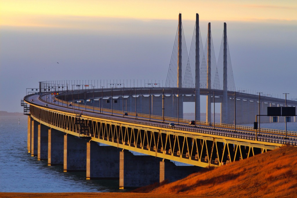 Øresund Bridge. Picture taken by Håkan Dahlström