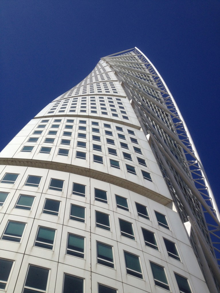 Turning Torso block building. Picture taken by Susanne Nilsson